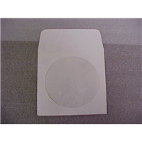 CD/DVD Empty Tyvek White Slv
