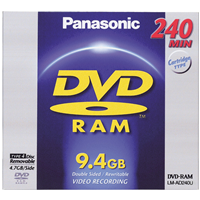 DVD-RAM9.4 in Removable Cart