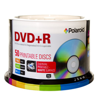 DVD+R4.7 White Thermal Hub Printable 50pk 16X