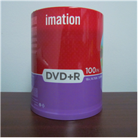 DVD+R 4.7 Branded 100pk Spindle 16X