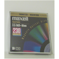 3.5in. Optical 230mb Mac Frmt