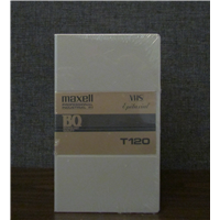 T-120 VHS Broadcast in Library Box*While Supplies Last