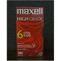 T-120 VHS High Grade in Sleeve