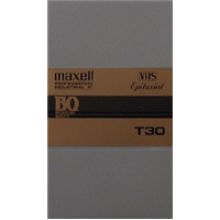 T-30 VHS Master in Library Box