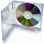 CD/DVD Empty Clear Jewel Case
