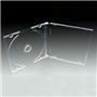 CD/DVD Empty Clear Slim Case