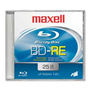 Blu-ray 25gb Rewritable DVD Jewel Case 2X