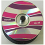 CDR-80 48X 50pk Pink-Purple Swirl Branded Surface