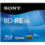 DVD 50gb Blu-Ray RW in Case 2X