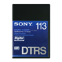 Hi8-113 DTRS in Library Box