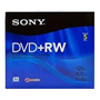 DVD+RW4.7 Rewritable in Case