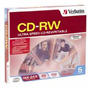 CDRW80 Rewritable Case 16X